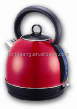 1.7L Cordless Dome kettle / Solid Red Colour / High-Class Electric Kettle