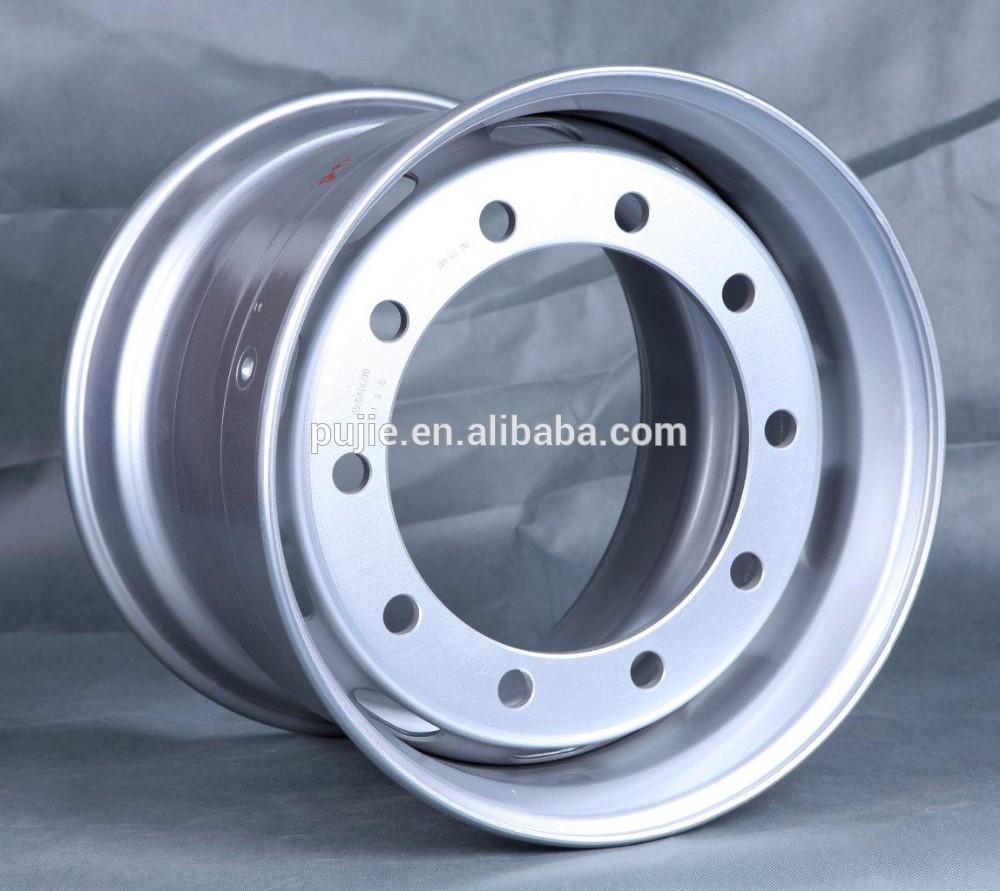 Nuovo prodotto 2015 22.5x9 tubeless camion in acciaio ruota