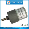 Speed reduction 37mm DS-37RS3525 battery dc geared motor