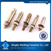 cina zhejiang alto quanlity fornitori produttori esportatori ottone acciaio in acciaio inox hilti ancoraggio chimico