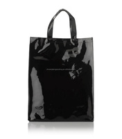 Promotion clear pvc cosmetic plastic handle bag pvc tote bags