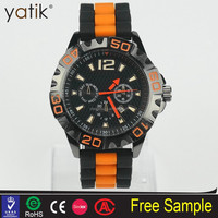 top 10 wrist watch brands color combination silicone wristband sport watch for men and women