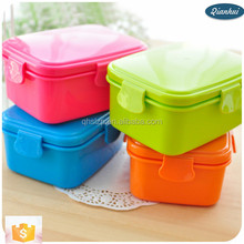 plastic lunch boxes factory Wholesale PP Plastic Easy carrying plastic heating mini lunch box for kids food warmer