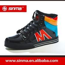 scarpe da bowling uomini scarpe con pu in pelle viso