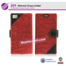 For Blackberry Z10,pc+pu mobile phone case for blackberry z10