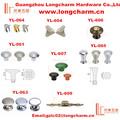 varios acabados de setas perillas para el hardware de los muebles de los proveedores de china