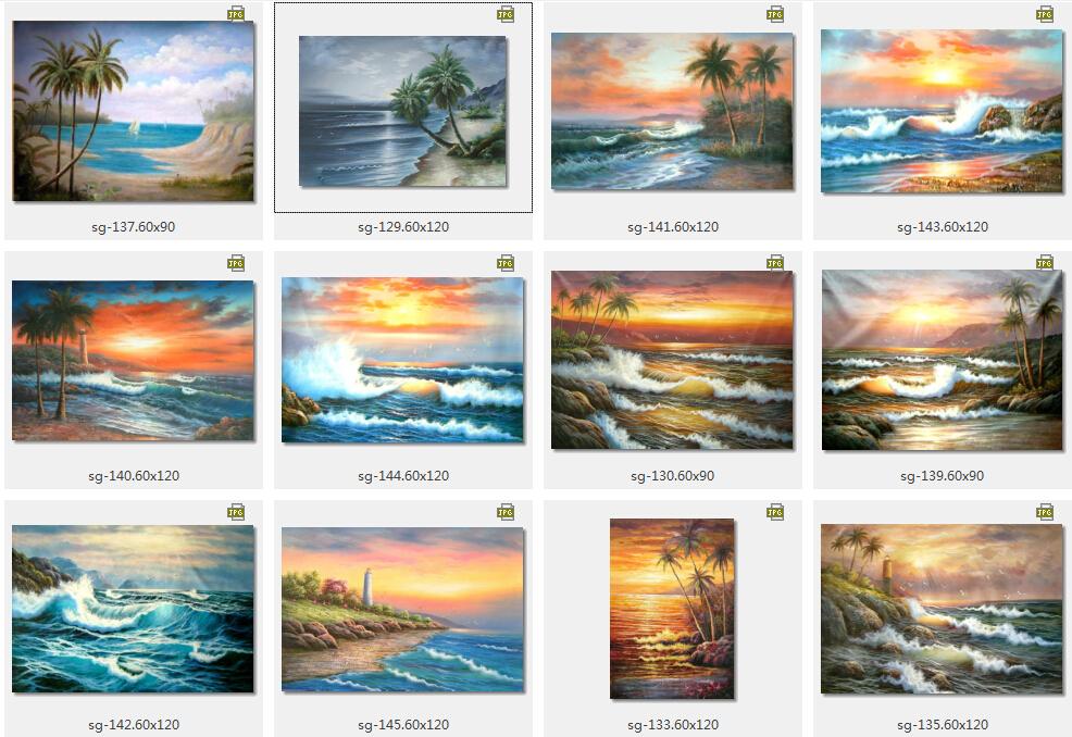 SG seascape similar artwork