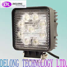 5.1 inch rectangle 3600lm 45w outdoor led work light for truck,tractor,Jeep,Offroad,Car,SUV