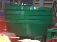 high quality wet pan mill from China supplier--Huhaong, gold ball mill for sale