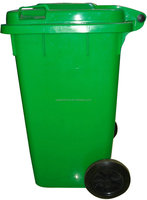outdoor industrial plastic bulk trash cans of 100 liter