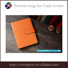 back to school multicolored plastic spiral notebook with yellow paper pu leather notebook