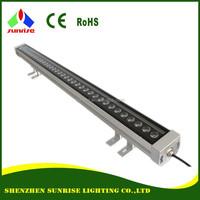Bridgelux 36W RGB DMX LED wall washer lights