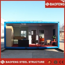 heat resisting luxury prefabricated movable shipping container house price