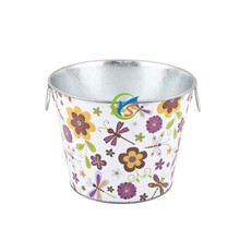 Galvanized bucket in home&garden