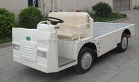 electric two seats truck with cargo bed