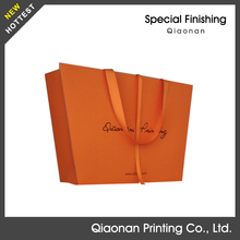 Unique fashion design paper shopping bags for garment/shoes/hats packaging