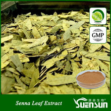 chinese plant high quality senna herbal extract senna leaf extract