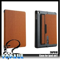 New fashion good quality leather sleeve case for Apple Ipad Air