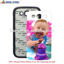 Year-end promotion!Offer all kinds of brands and models!2D Blank cover phone sublimation soft tpu case for samsung grand I9082