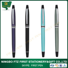First Y407 Nice Style Cap-Off Copper Metal Ballpoint Pen For Business Gift