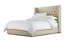 Provincial Classic French bed for indoor bedroom platform fabric bed