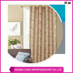 Polyester Yarn Dyed Jacquard Window Curtain