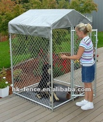 dog kennel with A frame top