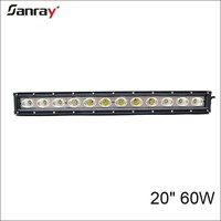 """Supply superbright for 4X4 truck car suv atv 60w 20"""" offroad led light bars"""