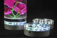 Magic centerpiece lighting~AC adapter+rechargeable ltihium battery Remote controlled