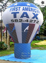 5m Good quality Inflatable TAX advertising hot air balloon for sale