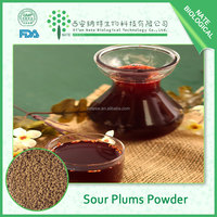 Food grade chinese dried plums powder/sour plum powder/Fructus Mume powder in low price