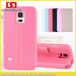 Flip PU Leather Belt Clip Holster Case For Samsung Galaxy S5