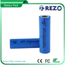 China registed lithium battery cell 18650 , rechargebale battery lithium ion 3.7V 2000mAh