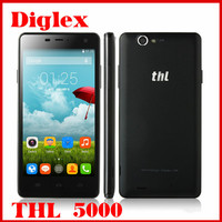 THL 5000 Smartphone 5.0 inch Octa Core MTK6592 Android 4.4 Mobile Phone 2GB RAM 16GB ROM 13MP Dual Sim WIFI GPS 3G Cell Phone