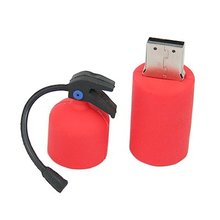 New Novelty Red Fire Hydrant USB 2GB-512GB2.0 USB Flash Drives Memory Sticks