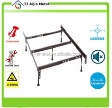 homes furniture cheap small metal bed frame with twin full queen king