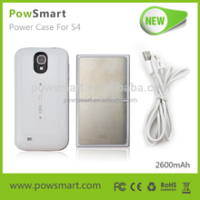 2600mAh Battery Cover For Samsung Galaxy S4 i9500 power case