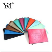 2015 custom bulk beauty cheap luxury PU promotional Toiletry cosmetic bag