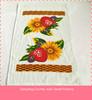cheap velour cotton tea towel