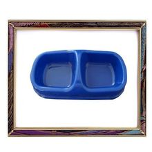X SIZE 2012 new fashion blue opaque pet food bowl pair for dogs,pet bowl,dog bowl,very cheaply price