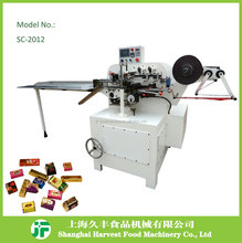 SC2012 Automatic Chocolate Fold Packing Wrapping/Packaging Machine