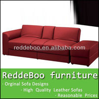 solid wood frame living room furniture fabric functional sofa bed