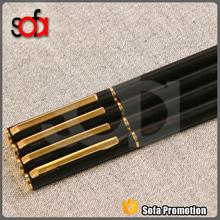 Superior Business Gift twist metal pens rose gold metal ball pen