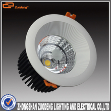 high lumen recessed dimmable 3 inch 4 inch round 2 inch 5w led down light