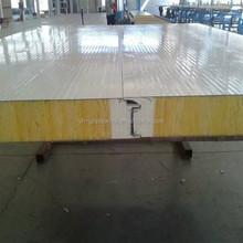 Lana de vidrio de poliuretano techo placas