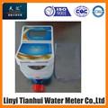 2015 caliente de la venta del agua de prepago, Tarjeta del RF IC inteligente medidor de agua