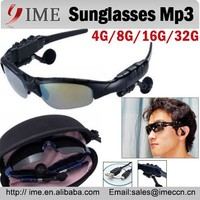 New Model Men Women Sunglasses Mp3 Mucis Player Headset Mp3 HOT Mp3 Player 4G 8G 16G 32G