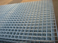 (manufacturer)Reinforcing Square welded wire mesh panel/3x3 galvanized welded wire mesh panel