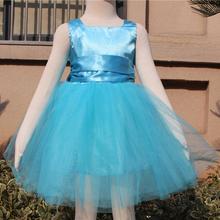 fashion princess style evening dress,kids princess dress, free prom dress