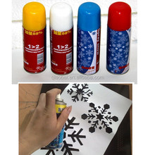 250ml Christmas snow spray, christmas decoration spray, santa snow for glass/window